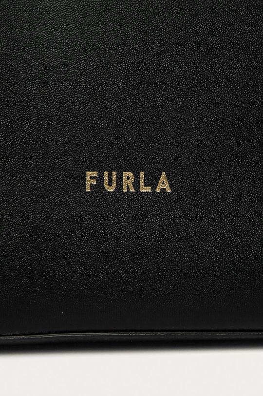 Furla - Kožená kabelka Musa černá