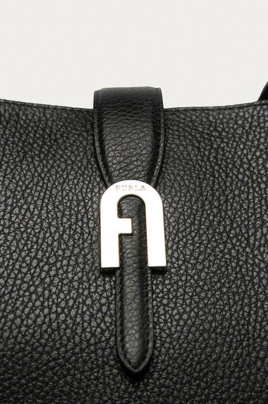 Furla - Poseta de piele Sofia negru