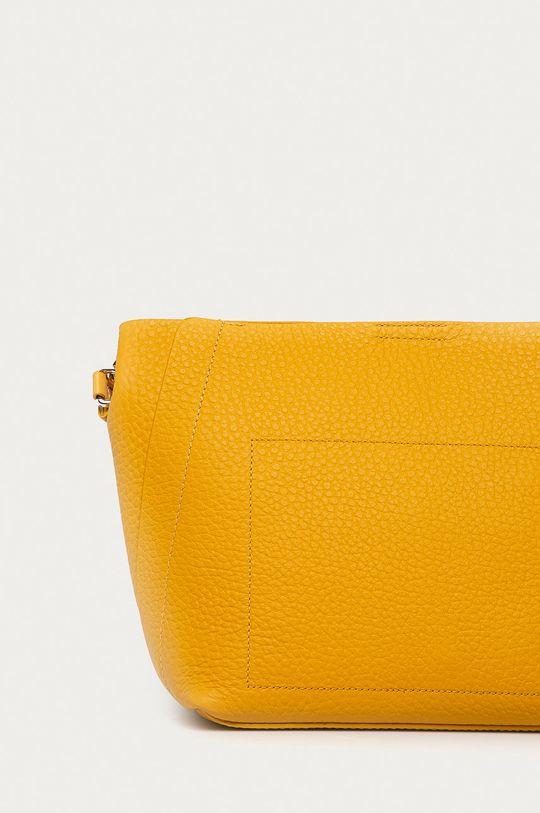żółty Furla - Torebka skórzana Grace