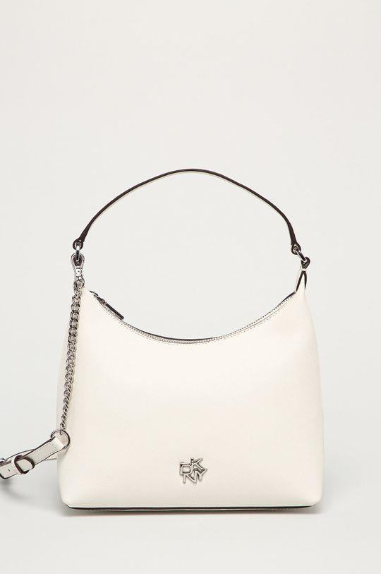 bílá Dkny - Kožená kabelka Dámský