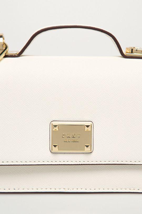 Dkny - Kožená kabelka bílá