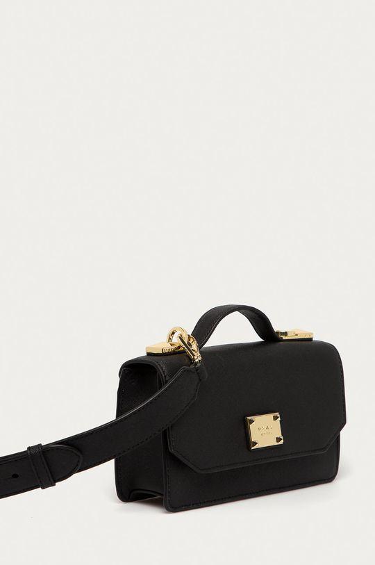 Dkny - Kožená kabelka  Přírodní kůže