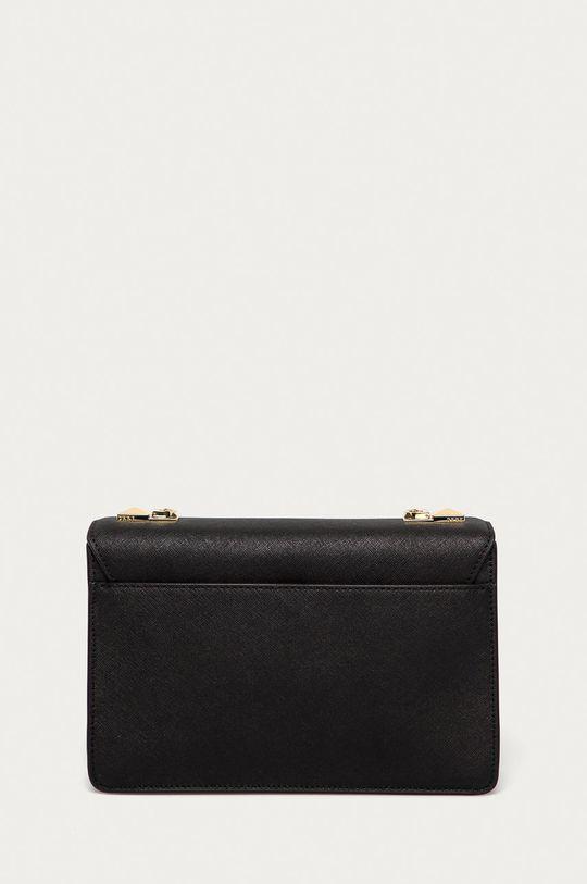 čierna Dkny - Kožená kabelka