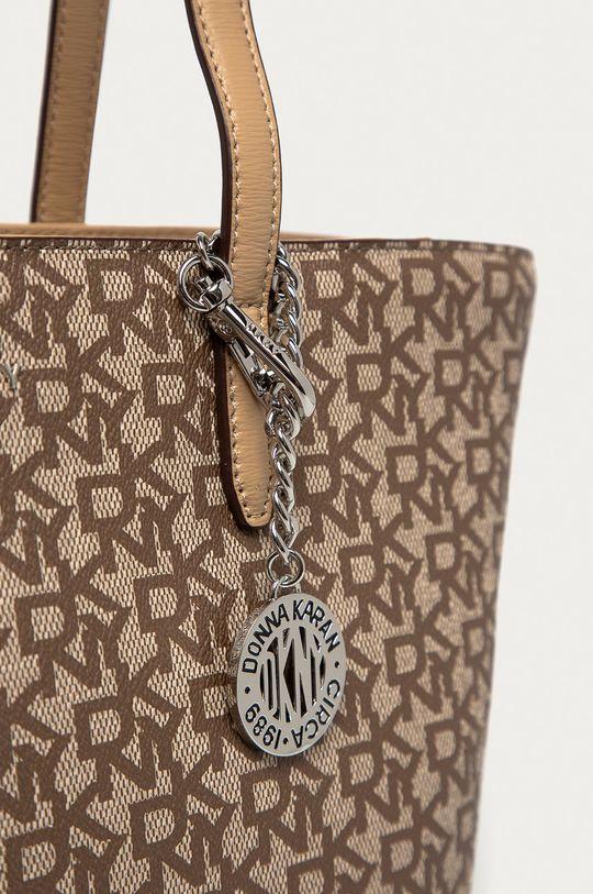 Dkny - Kožená kabelka béžová