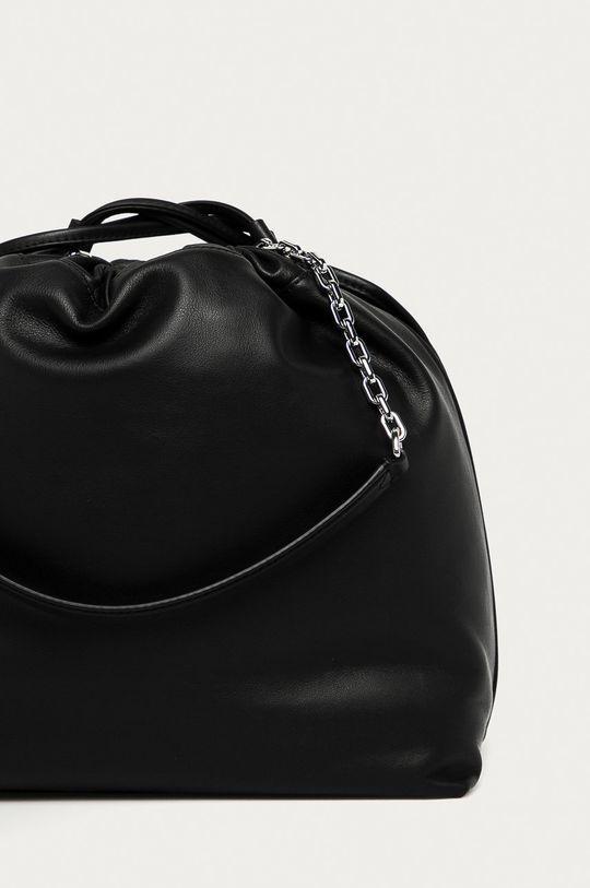 čierna Karl Lagerfeld - Kožená kabelka