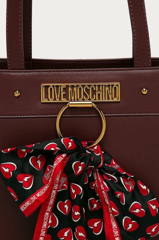 Love Moschino - Kabelka gaštanová