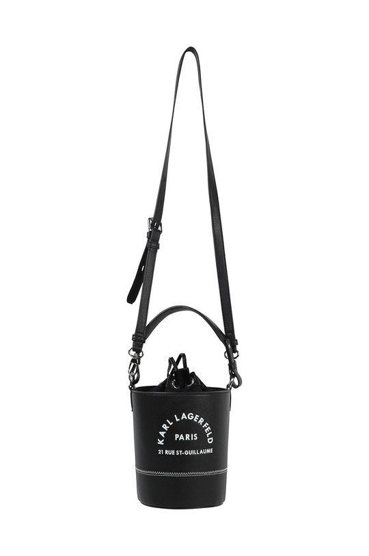 Karl Lagerfeld - Poseta fete negru