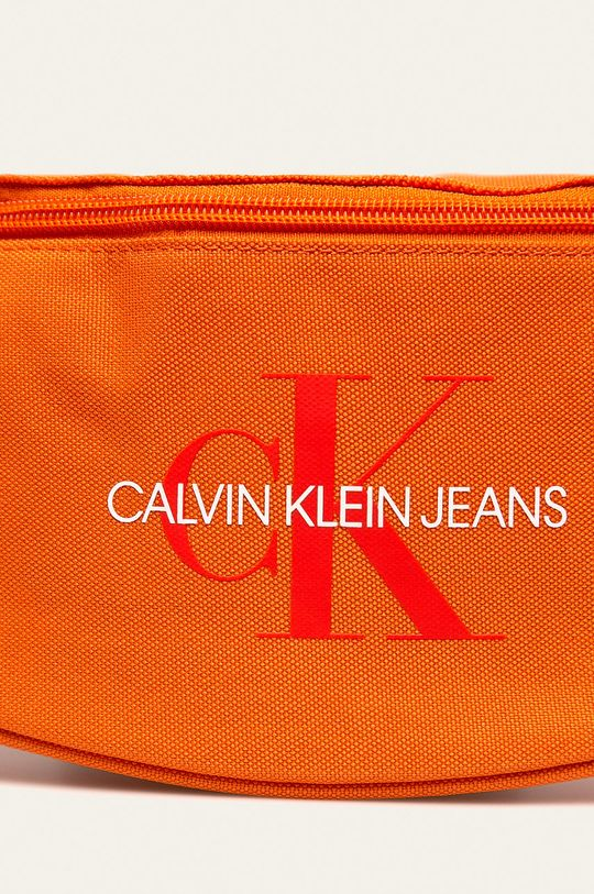 Calvin Klein Jeans - Ledvinka oranžová