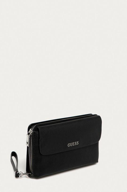 Guess Jeans - Ledvinka černá