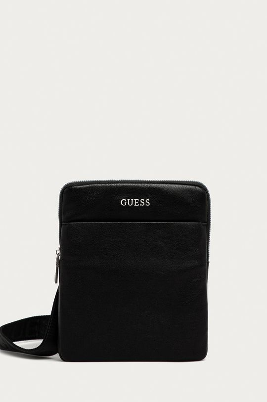 čierna Guess Jeans - Malá taška Pánsky