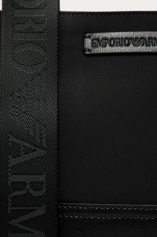 Emporio Armani - Ledvinka černá