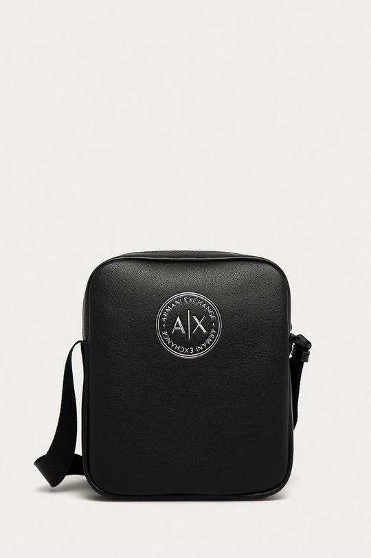 čierna Armani Exchange - Malá taška Pánsky