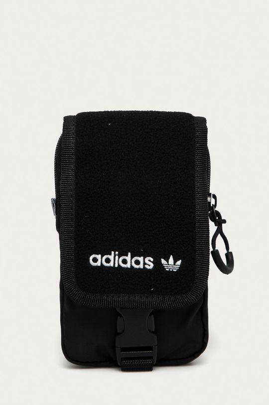čierna adidas Originals - Malá taška Pánsky