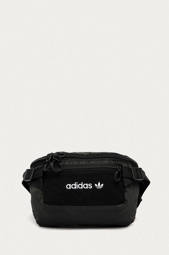 čierna adidas Originals - Ľadvinka Pánsky