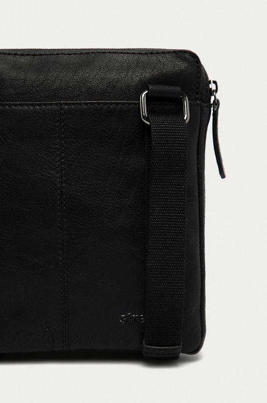 černá Strellson - Kožená taška