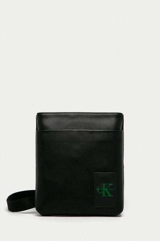 čierna Calvin Klein Jeans - Malá taška Pánsky