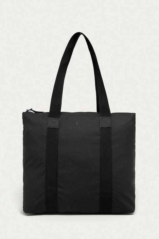 czarny Rains - Torba 1225 Tote Bag Rush Unisex