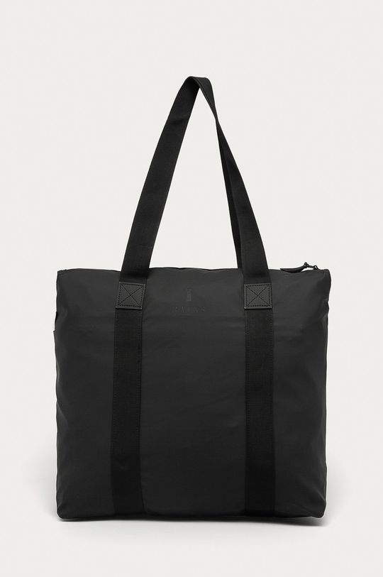czarny Rains - Torba 1225 Tote Bag Rush