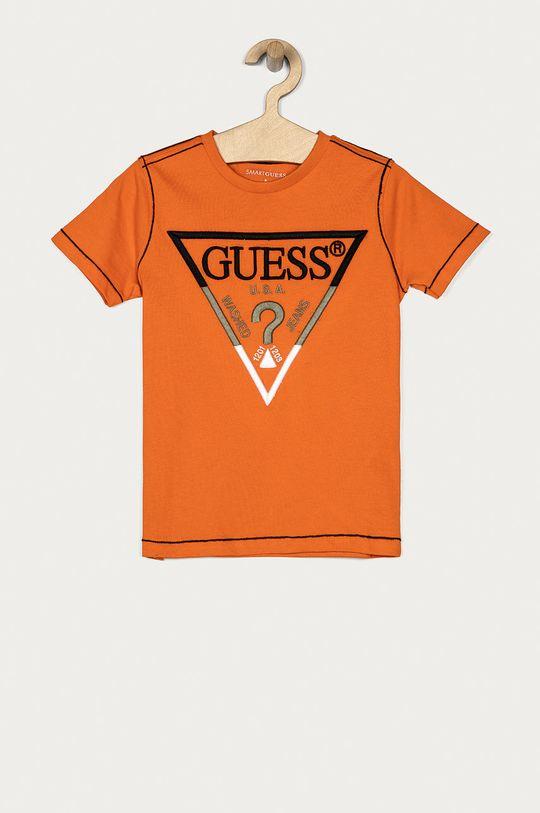 portocaliu Guess - Tricou copii 116-175 cm De băieți
