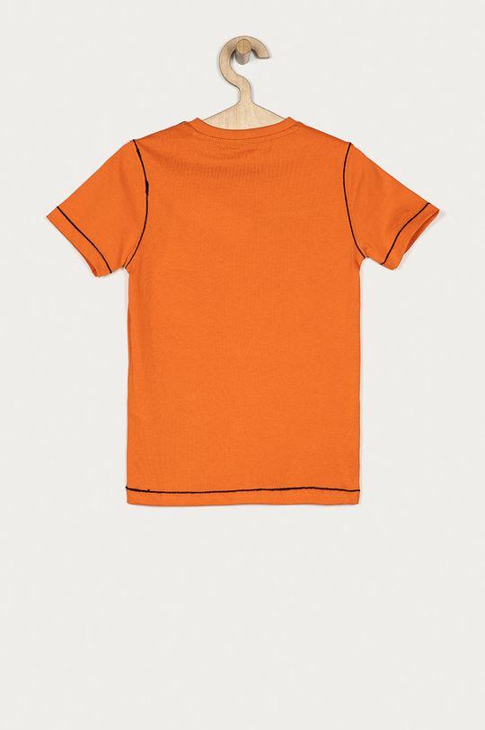 Guess - Tricou copii 116-175 cm portocaliu