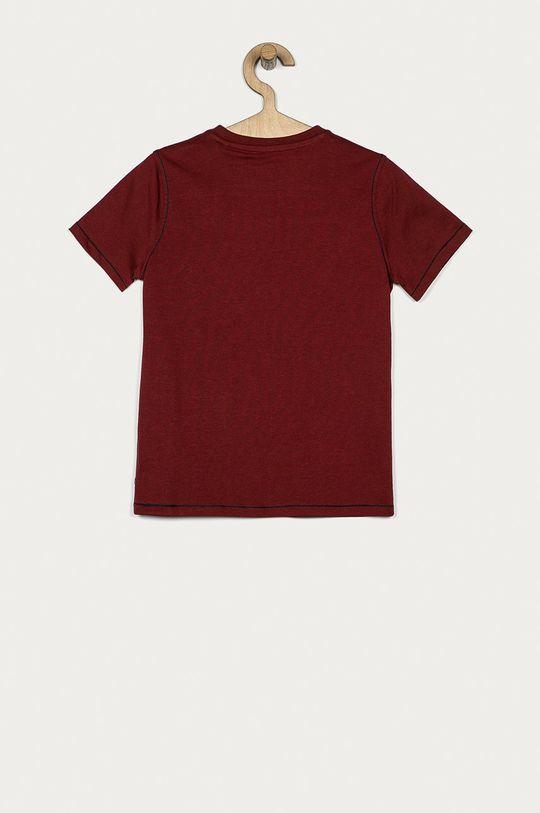 Guess - T-shirt dziecięcy 116-175 cm mahoniowy