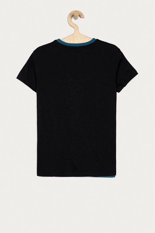 Guess Jeans - Дитяча футболка 116-175 cm чорний
