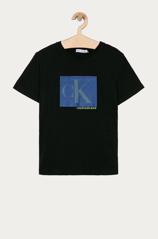 negru Calvin Klein Jeans - Tricou copii 140-176 cm De băieți