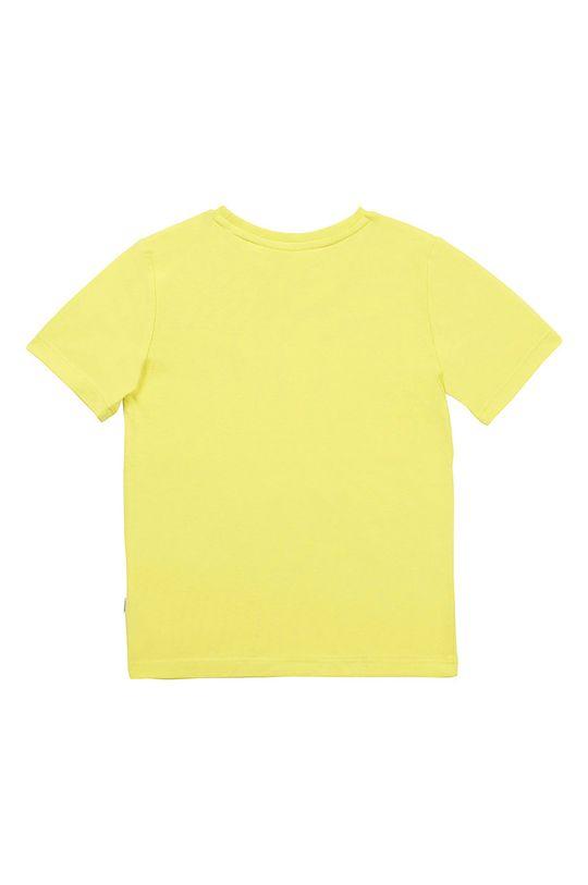 Boss - Tricou copii 104-110 cm galben – verde