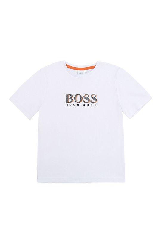 білий Boss - Дитяча футболка 164-176 cm Для хлопчиків