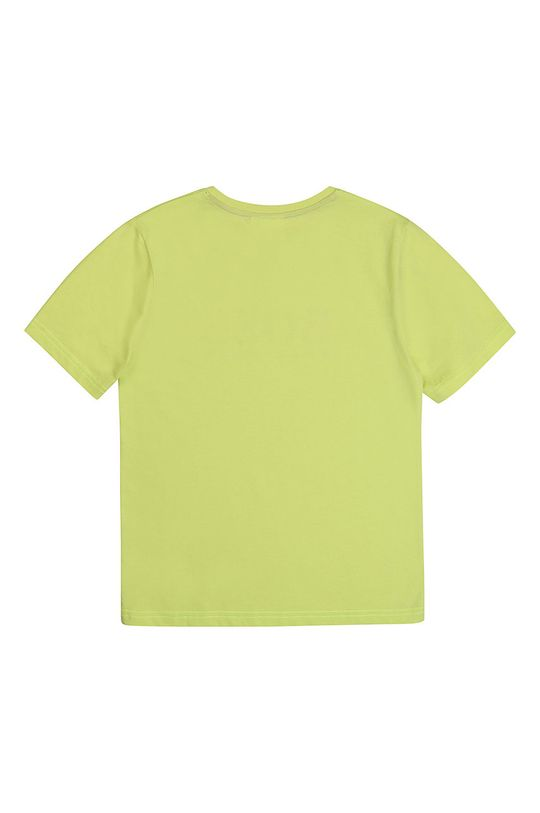 Boss - Дитяча футболка 164-176 cm жовто-зелений