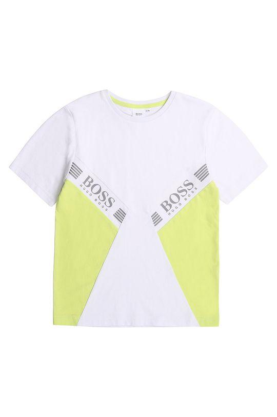 alb Boss - Tricou 164-176 cm De băieți