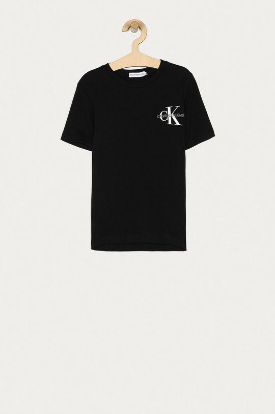 černá Calvin Klein Jeans - Dětské tričko 128-176 cm Chlapecký