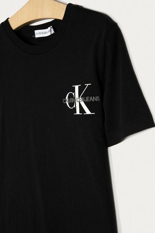 Calvin Klein Jeans - Dětské tričko 128-176 cm černá