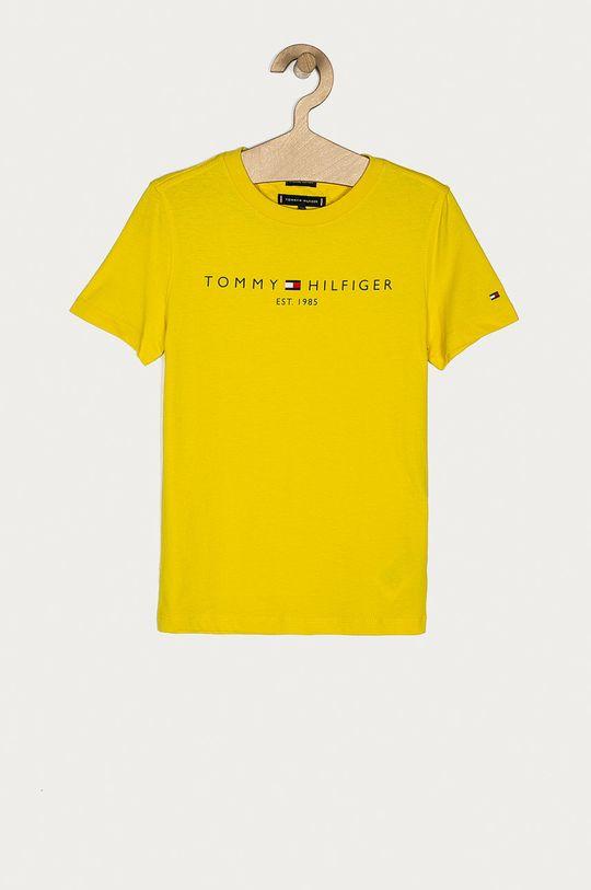 galben Tommy Hilfiger - Tricou copii 74-176 cm De băieți
