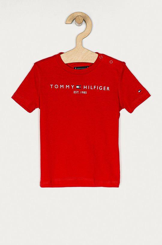 czerwony Tommy Hilfiger - T-shirt dziecięcy 74-176 cm Chłopięcy