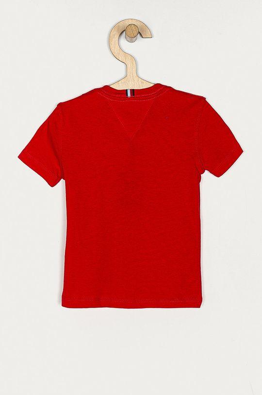 Tommy Hilfiger - T-shirt dziecięcy 74-176 cm czerwony