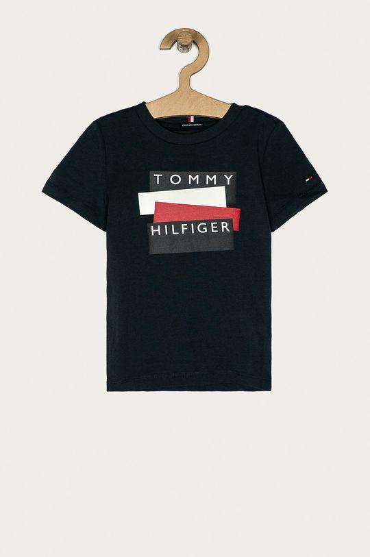 темно-синій Tommy Hilfiger - Дитяча футболка 74-176 cm Для хлопчиків