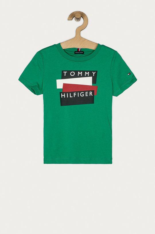 verde ascutit Tommy Hilfiger - Tricou copii 74-176 cm De băieți