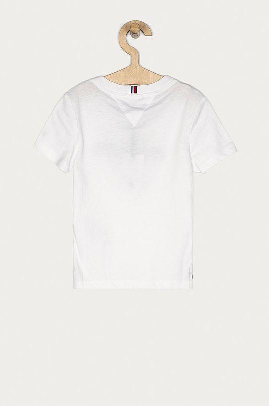 Tommy Hilfiger - Tricou copii 98-176 cm alb