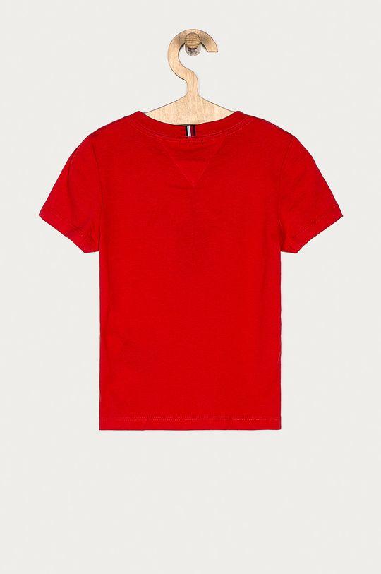 Tommy Hilfiger - Tricou copii 98-176 cm rosu