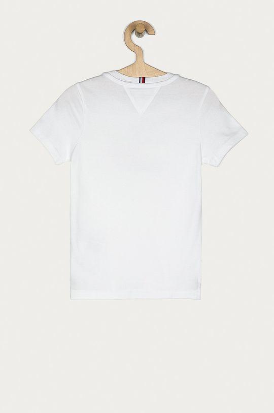 Tommy Hilfiger - Tricou copii 116-176 cm alb