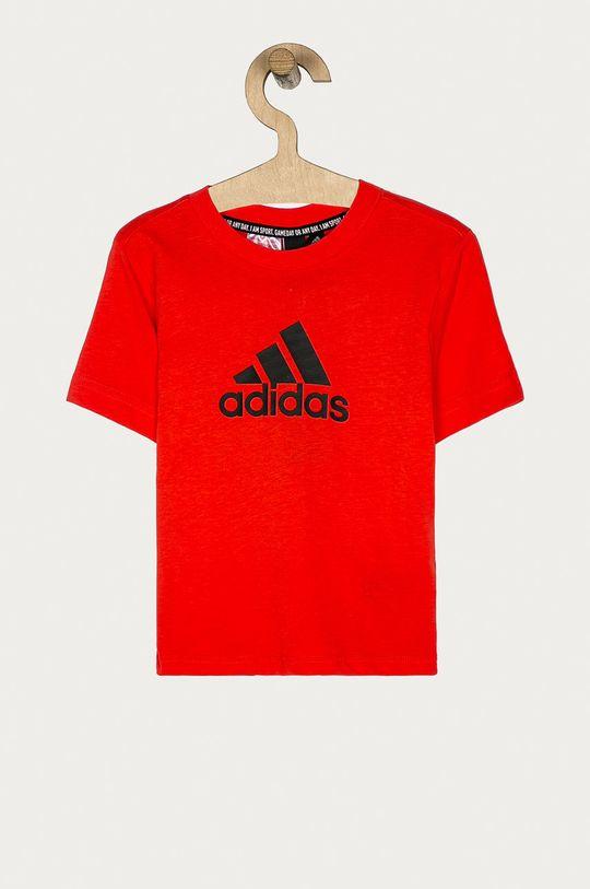 rosu adidas Performance - Tricou copii 110-176 cm De băieți