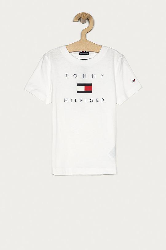 biały Tommy Hilfiger - T-shirt dziecięcy 104-176 cm Chłopięcy