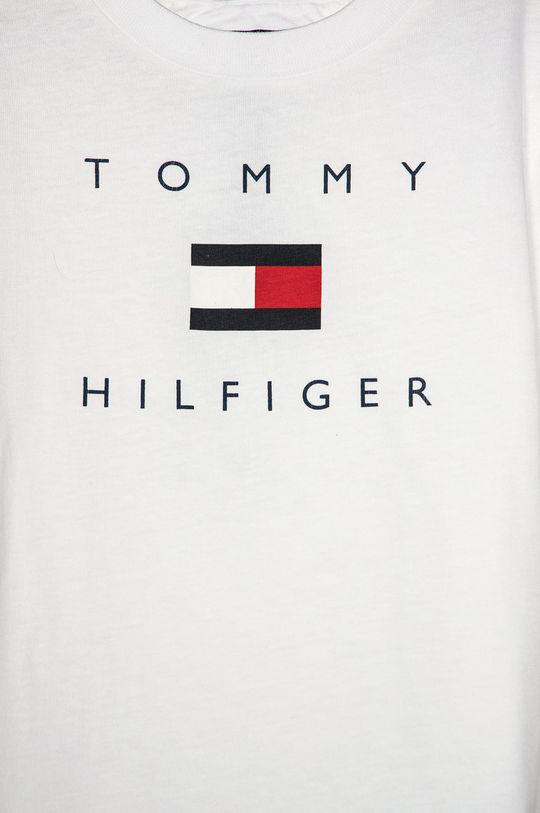 Tommy Hilfiger - T-shirt dziecięcy 104-176 cm biały