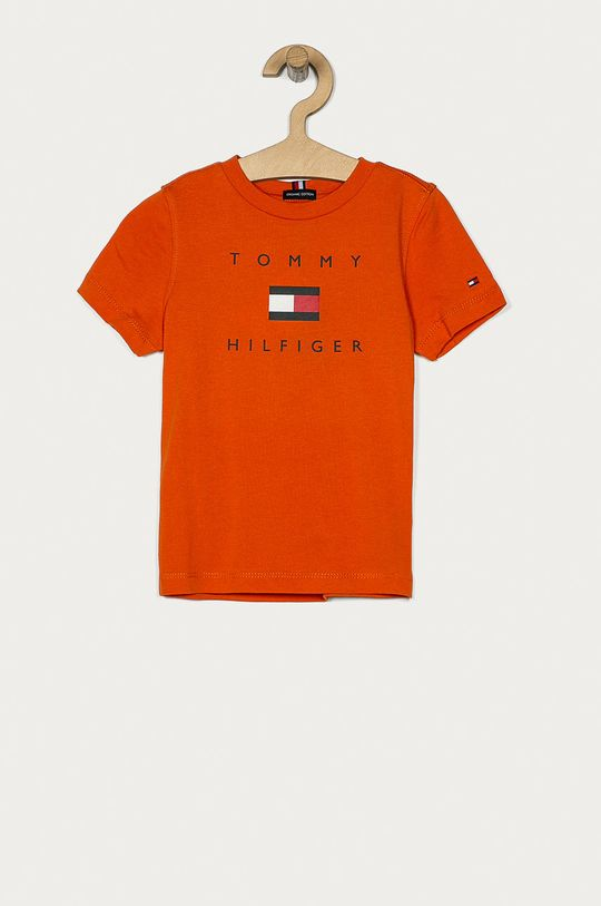mandarynkowy Tommy Hilfiger - T-shirt dziecięcy 104-176 cm Chłopięcy