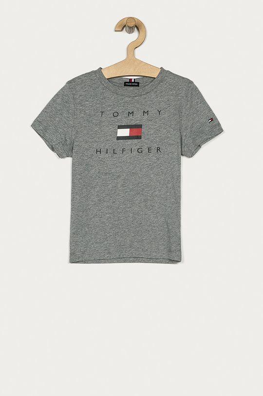 sivá Tommy Hilfiger - Detské tričko 104-176 cm Chlapčenský