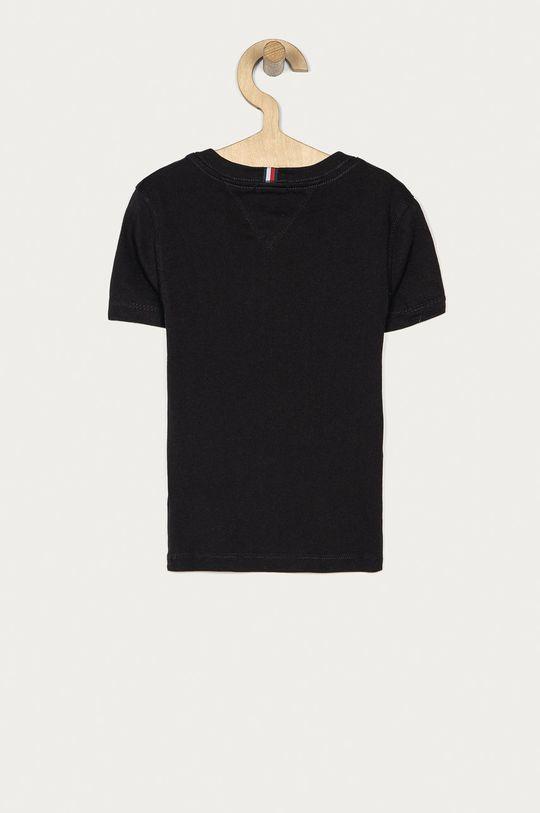 Tommy Hilfiger - T-shirt dziecięcy 104-176 cm czarny