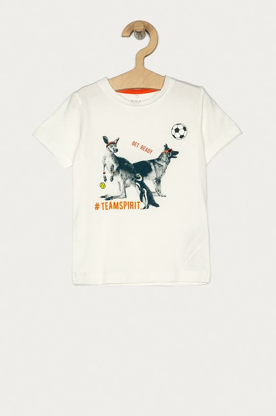 alb Name it - Tricou 80-110 cm De băieți