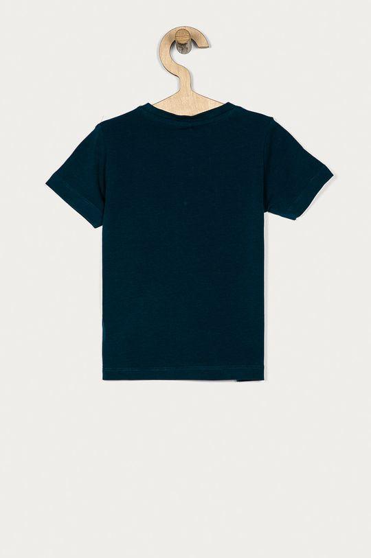 Name it - T-shirt 80-110 cm ciemny turkusowy