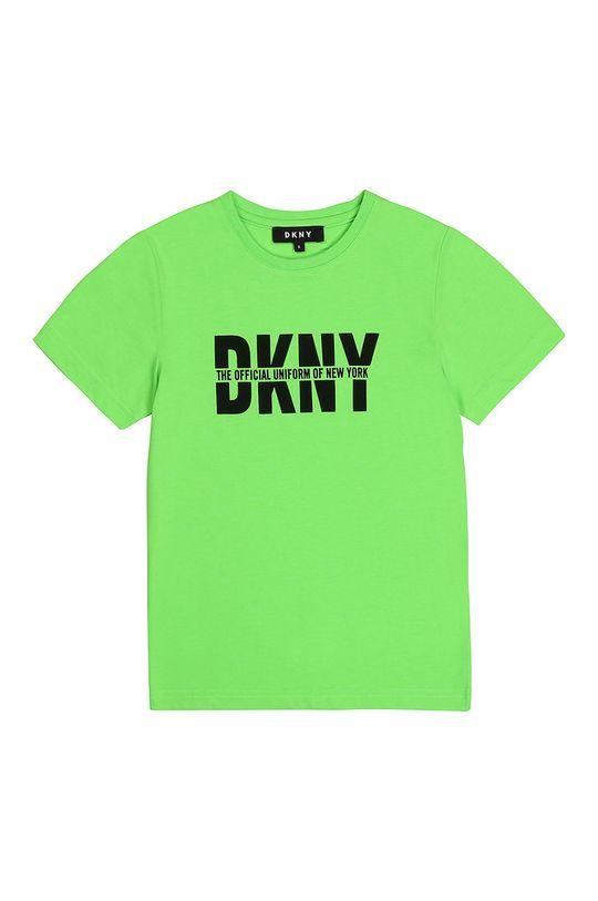 galben – verde Dkny - Tricou copii De băieți